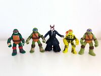 TMNT Figure Bundle x5 Action Figures Teenage Mutant Ninja Turtles See Descriptio