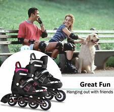 Adjustable Inline Skates Roller Blades Adult or Kid Breathable Outdoor Sport Us