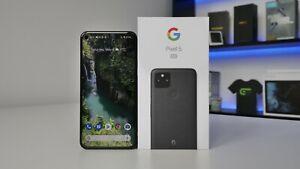 Google Pixel 5  - 128GB - Just Black - Unlocked