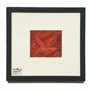 PRO HART PAINTING (1928 - 2006) DRAGONFLY - RED #46139-1