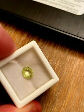 1.15ct Gorgeous Russian Chrysoberyl..100% genuine and natural. SUPER SWEET!!