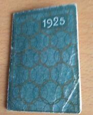 Petit calendrier de poche publicitaire pilules Dupuis Lille 1925