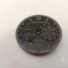 Graham Chronofighter Oversize Todo Negro/Phantom Reloj Dial para repuestos.