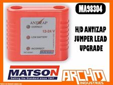 MATSON MA98304 HEAVY DUTY ANTIZAP JUMPER LEAD UPGRADE BATTERY VOLT PROCTECTION