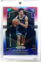 2019-20 Panini Prizm Red White and Blue Brandon Clarke Rookie RC #266, Refractor