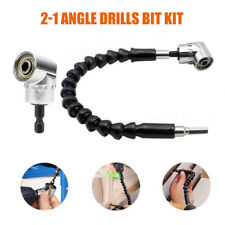 Drills Angle Bit Kit Flexible Right Universal Adapter Attachment High Quality