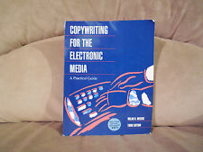 Copywriting for the Electronic Media: A Practical Guide by Meeske FREE SHIPPING!