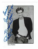 """Ron Palillo Welcome Back Kotter Signed 8"""" x 10"""" Photo W/Our COA To Howard"""