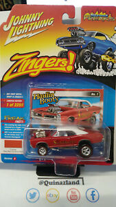 Johnny Lightning Freaks Zingers 1966 Pontiac GTO version A rouge (NG09)