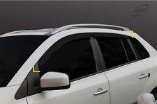 Wind Deflector Sun Visor Set 4pc Set for 2008 ~ 2016 Renault Koleos
