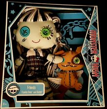 Monster High Frankie Stein Soft Stuffed Doll Plush Pet Watzit NEW Sealed 2009