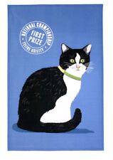 Black and White Cat 100 Cotton Kitchen Tea Towel