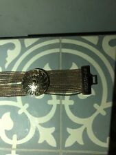 Versace for H&M women gold Metal Chain bracelet