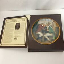 The Rarest Rockwell's Colonials Knowles Plate Clinching The Deal #6 Coa