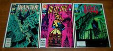 Detective Comics (Batman) #626 #629 #630 DC 1991 - lot of 3 comics VF+ to NM-