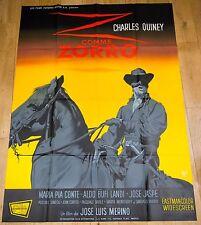 Affiche de cinéma : Z COMME ZORRO de JOSE-LUIS MERINO