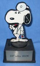 Snoopy Aviva Trophy ~ Get Well Soon!  ~ Snoopy as a Doctor