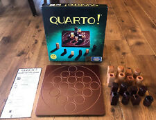 Quarto Strategy Game by Gigamic 1993 COMPLETE