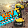 98VF 320NM 12000mAh Cordless Electric Impact Wrench Drill Screwdriver 110V