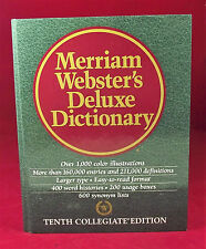 Merriam Webster's Deluxe Dictionary 10th Collegiate Edition 1998 Reader's Digest