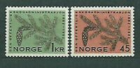 Norway - Mail 1962 Yvert 426/7 MNH