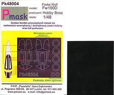Model Maker 1/48 FOCKE WULF Fw-190D Paint Mask Set