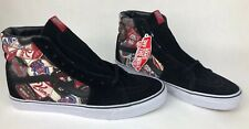 Vans Sk8 Hi Labels Black/true White Anniversary Limited Edition Size 13 NIB