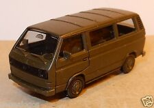 HERPA HO 1/87 VW VOLKSWAGEN MINI BUS COMBI T3 MILITAIRE MILITARY