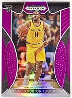 2019-20 Panini Talen Horton Tucker Silver Prizm Purple Rookie Card RC Lakers 🔥