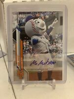 2020 Topps Opening Day Mr. Met Mascot Autograph New York Mets SP Auto & Base