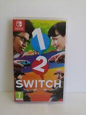 Boite De Jeu Nintendo 1 2 Switch Boite Seule Box Only No Game