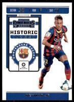 2019-20 Chronicles Soccer Contenders Historic Rookie Ticket #HT-NJR Neymar Jr