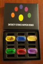 Avengers: Endgame Loot Crate Exclusive Infinity Stones Napkin Ring Set