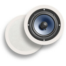 "Polk Audio RC60i (RC-60i) In-Ceiling 6.5"" Round Speakers 1Pair, ReFurb. SAVE"