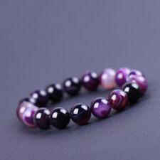 Charm Gift Agate Beads 10MM Crystal Natural Stone Bracelet Fashion Women Yoga