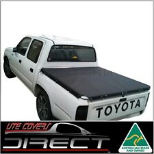 Tonneau Cover suits Toyota Hilux Dual Cab Ute (1998 to March 2005) Stretch Cord