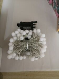 OxyLED 100 LED Curtain Fairy Lights (Warm White)