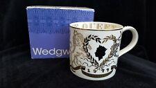 Wedgwood Richard Guyatt Silver Jubilee Edition Queen Elizabeth II 1952-1977 Mug