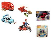Postman Pat Small Vehicle / Figures Toy Playsets - SDS Van Helicopter Police Car