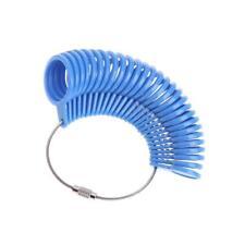 6f8158b784ba Reino Unido Inglés Británico 27PC A-Z Azul Calibre Medida tamaños de anillo  de dedo Sizer Herramienta GB