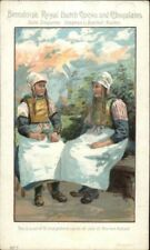 Bensdorp's Royal Dutch Cocoa Dutch Women Private Mailing Card #7
