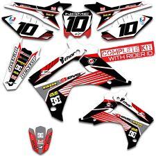 2013 2014 2015 2016 HONDA CRF 125 GRAPHICS KIT CRF125 MOTOCROSS BIKE DECALS