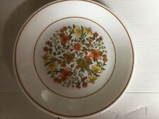 """Corning Ware Corelle Indian Summer Lunch Plate 8 1/2"""" D Set of 6"""