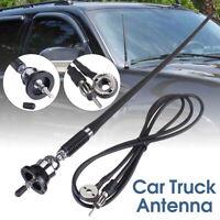 Rubber Radio Antenna FM Stereo Roof Mount Aerial For 4X4 Car Van Caravan Truck