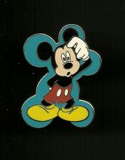 Mickey Mouse Perplexed Bewildered Splendid Walt Disney Pin