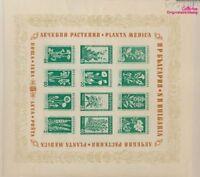 Bulgarien Block4 postfrisch 1953 Bergblumen und Heilpflanzen (9027404