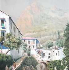 Klimesch F. um 1900 Landschaft Italien WO ? ITALIA Campania ? Amalfi ? Salerno ?