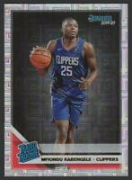 2019-20 Donruss INFINITE #225 Mfiondu Kabengele RC Rookie Los Angeles Clippers
