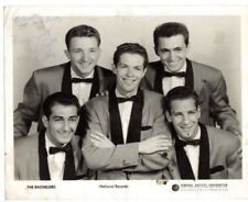 1950's Hand Signed Autograph Photo of  The Bachelors  8 X 10