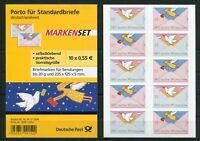 Bund 5 x 2827 - 2828 SK Folienblatt FB 12 postfrisch BRD Selbstklebende MNH